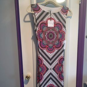 Beautiful Paisley Print Maxi Dress